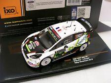 Ford Fiesta WRC 17 RS Rallye Monte Carlo 2018 Bouffier 1/43 IXO