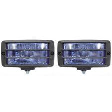 Universal Blau Nebelscheinwerfer Nebelleuchte Nebellampe Auto E-Prüfzeichen