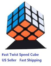 Fast 3x3 Speed Puzzle ABS Magic Smooth Professional Twist Cube With Base
