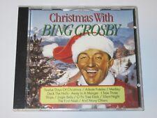 Bing Crosby – Christmas With Bing Crosby CD Twelve Days Silent Night Deck Halls