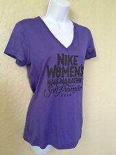 Nike  Women 2014 SF Half Marathon Purple Shirt S