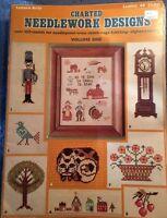 Needlework Designs Leisure Arts Vol 1 Rugs Knit Crochet Cross Stitch