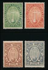VATICAN B1-B4 MINT NH, SEMIS 1933