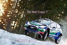 Petter Solberg Ford Fiesta RS WRC Swedish Rally 2012 Photograph