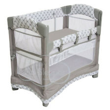 Arm's Reach Mini Ezee 3 IN 1 Baby Co-Sleeper Bedside  Bassinet Acanthus New