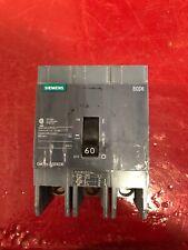 Siemens Circuit Breaker Bqd6330 60 Amp 600Y/347 Volt 3 Pole