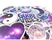 100 PCS Cute Dreamy Stickers Vinyl Laptop Luggage Decals Dope hydro flask water