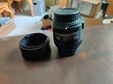 Nikon AF-S DX Micro Nikkor 40mm f/2.8G Lens & 52mm Tiffen UV Filter