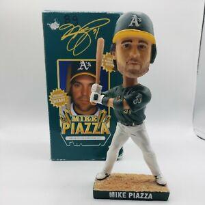 2007 Oakland Athletics Mike Piazza #31 SGA Bobblehead Green Jersey MLB MVP Rare