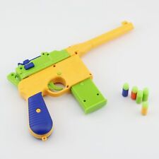 Toy Pistol Gun C96 Mauser Soft Bullet Dart for Kids Gift Outdoor Shooting Game