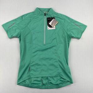 Endura Womens XTract S/S Cycling Jersey Mint Green Size Medium