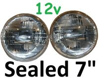 "7"" Lights Sealed Beam 12V 75/50w Holden Torana GTR XU1 A9X SLR5000 LJ LH LX LC"