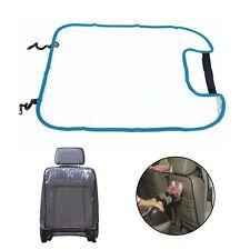 housse de protection bleu pour dossier arrière siège voiture enfant