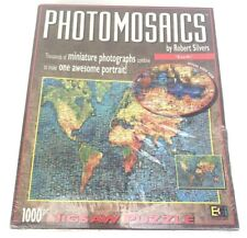 NEW Sealed Photomosaics puzzle of Earth by Robert Silvers over 1000 Pc