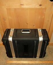 Gemini black padded open ended Hard Travel Gear Case 26 1/2 x 21 x 11