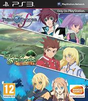Tales of Symphonia Chronicles & Tales of Graces Compilation [PlayStation 3 PS3]