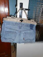 Sac à main en jean neuf avec des poches à l'intérieur