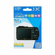 JJC LCP-AW130 LCD Screen Protector Guard Film Cover for Nikon Coolpix AW130(2pc)
