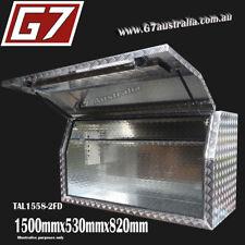 1500x530x820 Aluminium toolbox ute checker plate tool box truck storage Full o