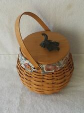 Longaberger Vintage 2001 Pumpkin Patch Basket