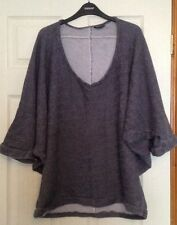 H&M 3/4 Sleeve Scoop Neck None Jumpers & Cardigans for Women