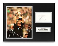 Francois Pienaar Signed 16x12 Photo Display Rugby Autograph Memorabilia + COA