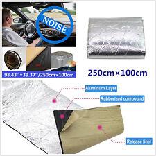Universal 2.5X1M Car Heat Shield Insulation Material Mat Firewall Sound Deadener