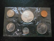 1867- 1967 BU Canada coin set with the goose dollar six coin set.