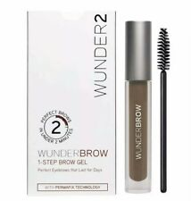 WUNDERBROW Brunette Eye Brow Gel Perfect Eyebrows 2 Mins Wonderbrow BRAND NEW