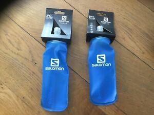 Salomon 250ml soft flasks hydration trail running water bottle