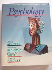 PSYCHOLOGY 9TH ED ATKINSON SMITH HILGARD PB 1987 **GC**
