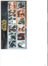 2015  ROYAL MAIL PRESENTATION PACK STAR WARS INCLUDING MINI SHEET