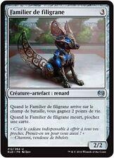 MTG Magic KLD FOIL - Filigree Familiar/Familier de filigrane, French/VF
