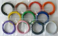 110m 7/0.2mm Equipment Wire 11 Colour Kit  23- 24 AWG* - Stranded  -   WP-021818