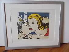 Roy Lichtenstein , Le Baiser ,,,,, ( ideal déco Loft )