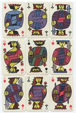 Vintage Playing Cards Comedia Sweden Oberg's Mid Century 1958