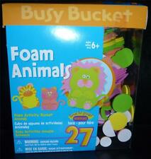 Girl/boy Foam ANIMALS Kit--Lion Tiger Scouts Youth Church School Group Makes 24