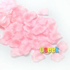 100PCS Silk Rose Flower Petals Leaves Wedding Party Confetti Table Decorations