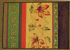 Amber Abundance Fruits of the Sun ~ Fall Leaves Single Tapestry Placemat