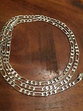 CLUB LINK SILVER 925 CHAIN NECKLACE