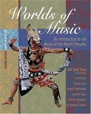 Titon, Jeff Todd, et al. Worlds of Music: An Introduction to the Music of the Wo