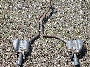AUDI A8 D4 3.0D EXHAUST SYSTEM BACK BOX  2011-ON