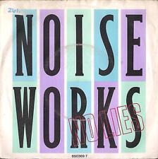 DISCO 45 GIRI   NOISEWORKS - NO LIES / LEARNING TO SWIM