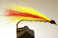 Streamer fly, Mickey Finn . Available in size 2, 4, 6, 8 and 10 (3-pack)