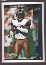 LONDON FLETCHER 2002 SCORE FINAL SCORE GOLD MINT SP ST. LOUIS RAMS /100 $12