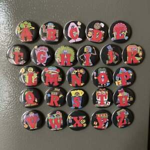 The Letter People 26-Magnet Set PBS
