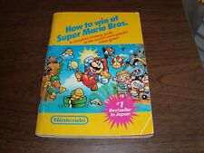Vintage 1987 NES Nintendo How to Win at Super Mario Bros. Strategy Guide NICE!!!