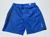 Reebok Crossfit Mens Blue Stronger Every Rep Training Mens Athletic Shorts XL