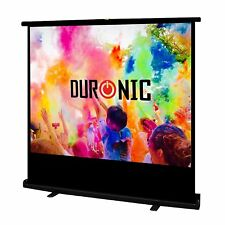 Duronic FPS100 /43 Ecran de projection autoportatif 100'' 4:3 / 203 x 152 cm