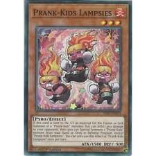 Yu-Gi-Oh TCG: Prank-Kids Lampsies - HISU-EN015 - Super Rare Card - 1st Edition